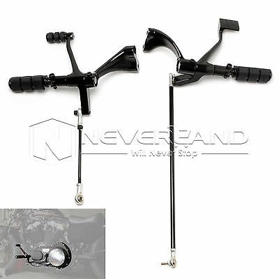 Forward Controls Foot Pegs Levers Linkages For Harley Sportster 1200 883 XL Iron