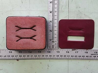 EMBELLISHMENT FOR STRAP - Leather cutting die, clicker die