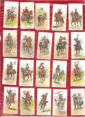 Cigarette Cards. Wills - NZ. 50/50 Riders of the World. Set.