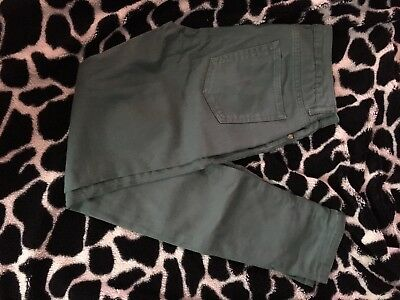 """whistles skinny green jeans size 26"""""""