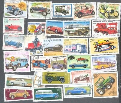 Motorised Vehicles-100 all different-mainly cars tractors,trucks fire engines