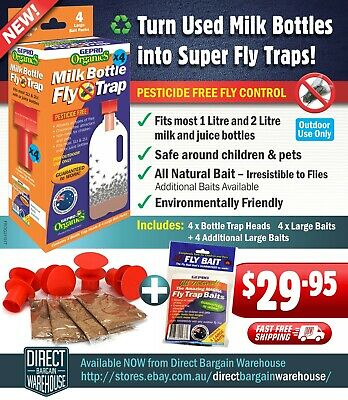 GEPRO Organics Bottle Top Fly Trap