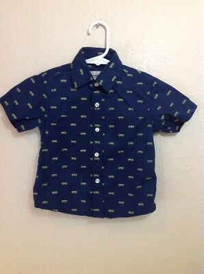 Sovereign Code Kids Baby Boy Infant Button Up Size 18 Months Short Sleeve