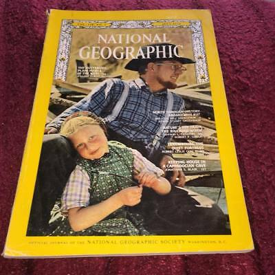 National Geographic Magazine JULY 1970 THE HUTTERIES PLAIN PEOPLE OF THE WEST