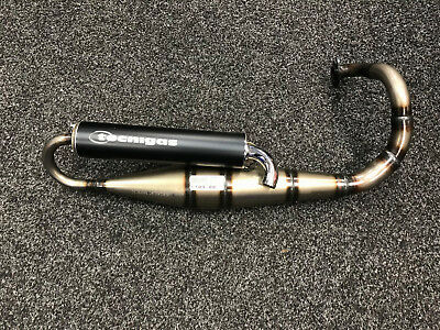 Brand New Tecnigas Stainless Steel Exhaust For Speedfight 100/vivacity/elyseo Al