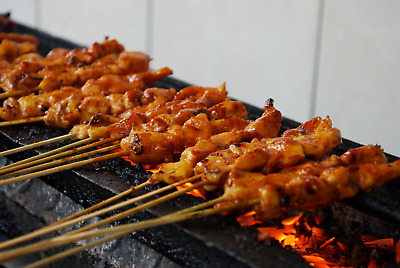 new recipe food sate bakar gurih mmn