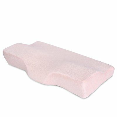 Cervical Contour Bed Pillow for Neck Pain and Side Sleeper Queen Size Memory S19