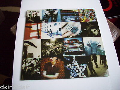 U2 achtung baby lp naked adam sleeve on back