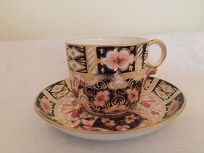Royal Crown Derby Imari 2451 Cup and Saucer.c.1934.