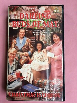 The Darling Buds Of May Christmas Is Coming Vhs Tape U Cert