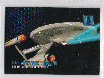 Star Trek 30th Anniversary Phase 1 - 100 Card Complete Base Set EX Skybox