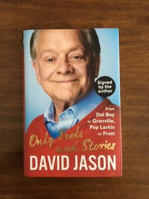 Signed David Jason Only Fools And Stories Book