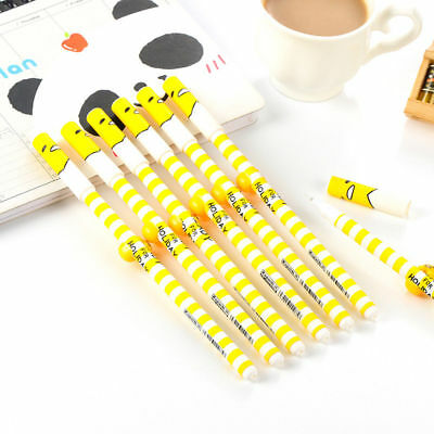 2Pcs Creativity Cartoon Egg Gudetama Students School Office Ballpoint Stationery
