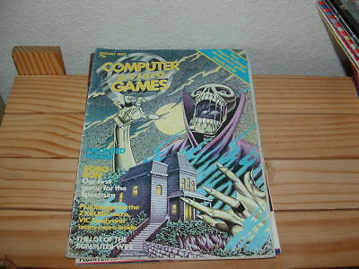 Computer And Video Games Magazine August 1982