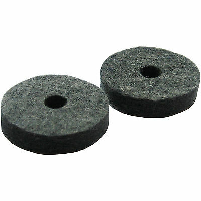 2 Hi Hat Cymbal Seat Felt Washers Pack (for drum kit stands)