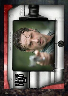 Topps The Walking Dead (TWD) Digital Card Trader - Rick Grimes Red Versus Award