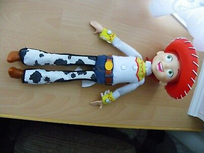 "Disney Talking Jessie with Hat from Toy Story 15"" Tall - VGC"