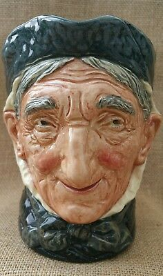 Royal Doulton ~ Vintage ~ TOOTHLESS Granny ~ Large Character Jug ~ Hard To Find