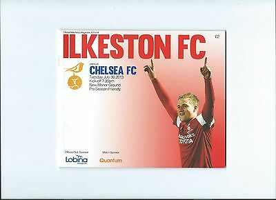 2013 Ilkeston v Chelsea Friendly