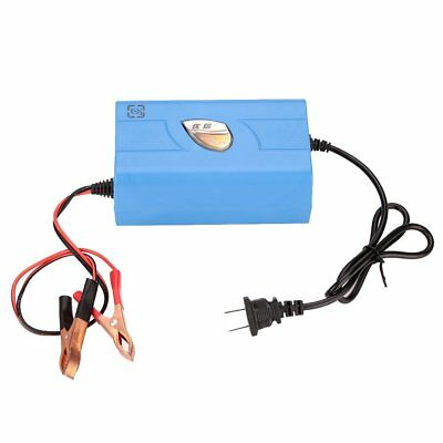 12V 6A Motorcycle Boat Marine Maintainer Battery Automatic Auto Charger US Plug