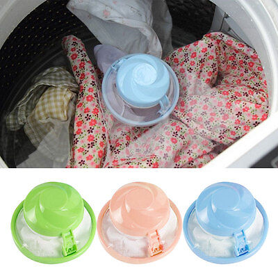 6.5*4.5cm Hair Ball Removal Washing Machine Ball Suction Remover Stick Bag Pop*