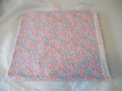 Laura Ashley Vintage Fabric - New Old Stock - Mixed Flowers from 1992