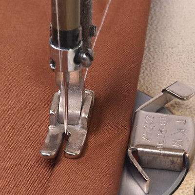 2Magnetic Guide Seam Domestic Industrial Sewing Machine Foot For Brother Singer*