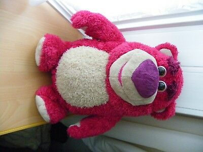 "Disney Talking Lotso-Huggin-Bear Toy Story 14"" Tall - VGC"