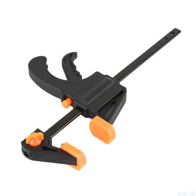 4 Inch Speed Bar F Quick Ratcheting Clamp Squeeze Ratchet Wood Working DIY WE8