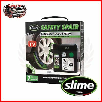 Set Slime Repairing Automatic Puncture - Cars - Tyres Tubeless