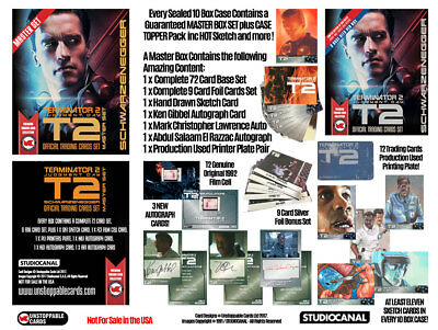 Terminator 2 Sealed Box Of Trading Cards And Dealer Promo JW1