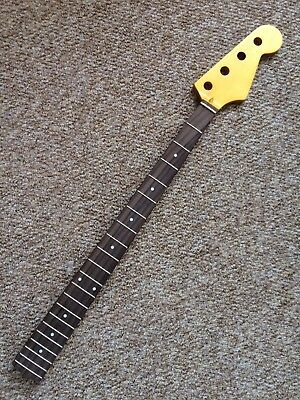 P Bass Style Guitar Neck - Factory Reject