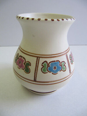 Honiton Pottery - Small Vase (approx 95 mm high)