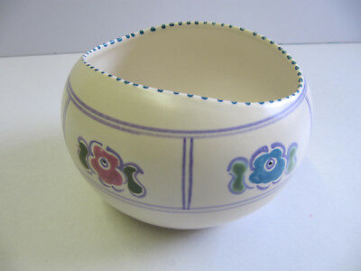 Honiton Pottery - Sugar Bowl (approx 75 mm high)