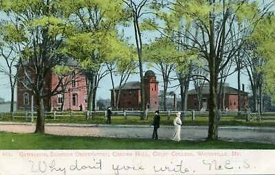 Waterville, Me., Gymnasium, Shannon Observatory, Coburn Hall, Colby College