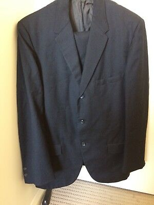 50s/60s 3 Button Suit Mens Vintage