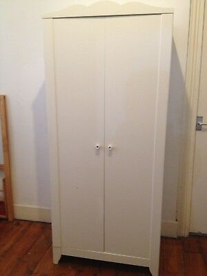 IKEA HENSVIK Children's White Wardrobe