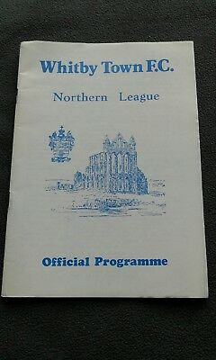 whitby v scarborough 3 aug 1992 friendly
