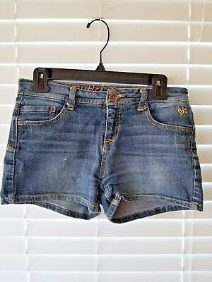 Girl's Justice Denim Jean Short Simply Low Size 16R