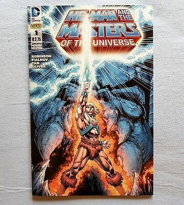 He-Man and the Masters of the Universe n°1 - DC Comics - RW Lion