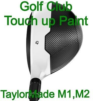 TaylorMade M1 & M2  WHITE Golf Club Touch up paint 4ml