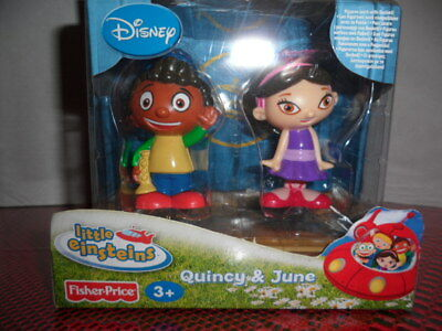 "Fisher Price Disney Little Einsteins ""quincy And June"" Nib 2007"