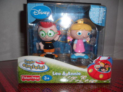 2007 Fisher Price Disney Little Eintsteins, Leo And Annie Nib