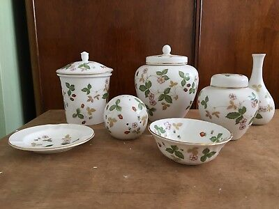 Wedgwood Wild Strawberry Job Lot