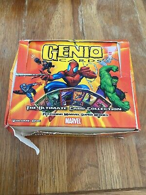 Genie Cards Marvel Super Hero Villains Cards