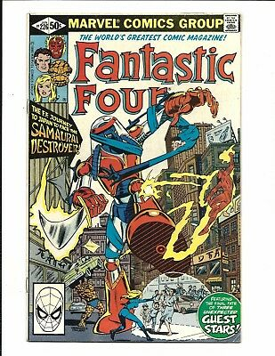Fantastic Four # 226 (Jan 1981), Vf-