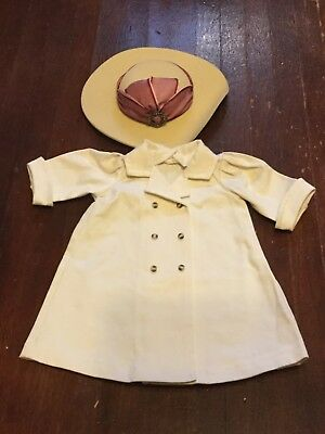 AMERICAN GIRL Samantha's TRAVEL DUSTER Coat and HAT