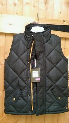 Joules Gilet / Body warmer Age 3 Dark Green BNWT