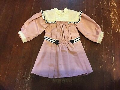 American Girl Doll Samantha's Pink Talent Show Dress EUC - Retired