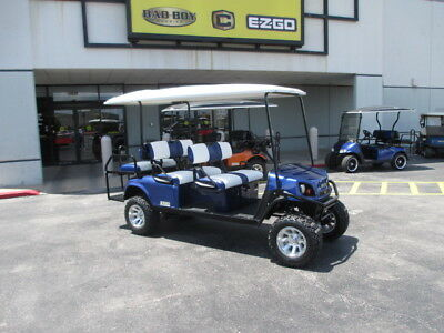2017 Ezgo Gas Express L6 Golf Car/ Golf Cart